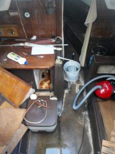 Nettoyage interieur bateau